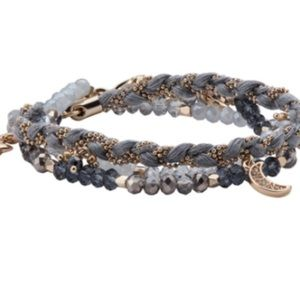 Chloe + Isabel starry night wrap bracelet retired